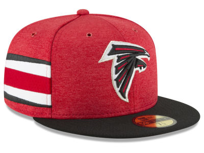 b89cce72755 Atlanta Falcons New Era 2018 Official NFL Sideline Home 59FIFTY Cap