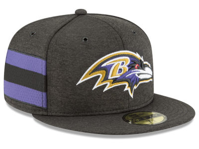 Baltimore Ravens New Era 2018 Official NFL Sideline Home 59FIFTY Cap