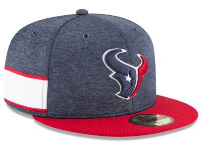 Houston Texans New Era 2018 Official NFL Sideline Home 59FIFTY Cap