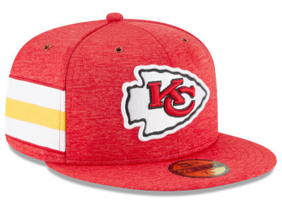 Kansas City Chiefs New Era 2018 Official NFL Sideline Home 59FIFTY Cap