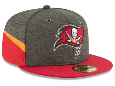 Tampa Bay Buccaneers New Era 2018 Official NFL Sideline Home 59FIFTY Cap