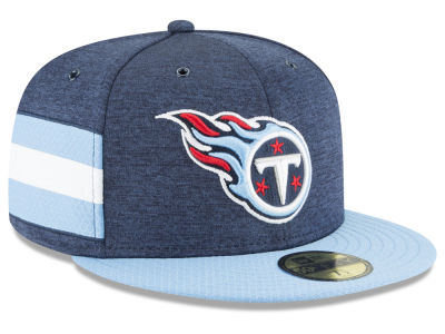Tennessee Titans New Era 2018 Official NFL Sideline Home 59FIFTY Cap