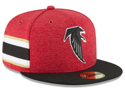 Atlanta Falcons New Era 2018 Official NFL Sideline Home 59FIFTY Cap