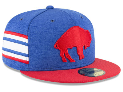 Buffalo Bills New Era 2018 Official NFL Sideline Home 59FIFTY Cap