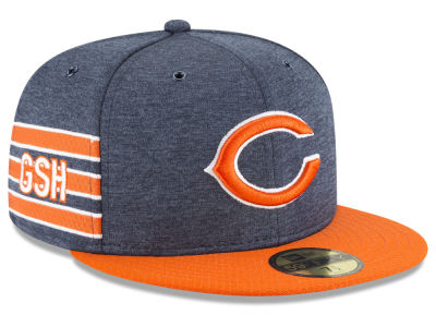 Chicago Bears New Era 2018 Official NFL Sideline Home 59FIFTY Cap
