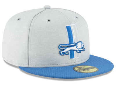 Detroit Lions New Era 2018 Official NFL Sideline Home 59FIFTY Cap