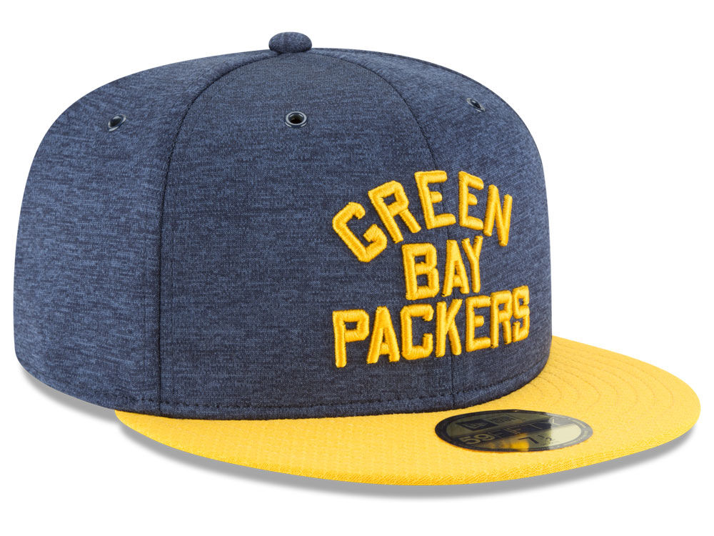 3febe1bff Green Bay Packers New Era 2018 Official NFL Sideline Home 59FIFTY Cap