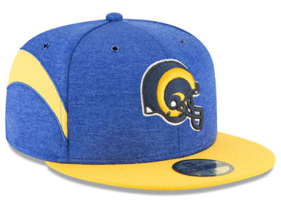 Los Angeles Rams New Era 2018 Official NFL Sideline Home 59FIFTY Cap