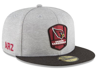 Arizona Cardinals New Era 2018 Official NFL Sideline Road 59FIFTY Cap