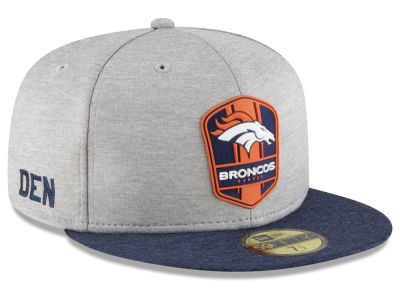 Denver Broncos New Era 2018 Official NFL Sideline Road 59FIFTY Cap