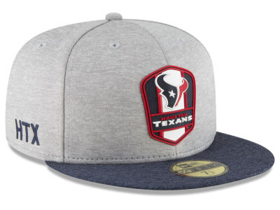 Houston Texans New Era 2018 Official NFL Sideline Road 59FIFTY Cap