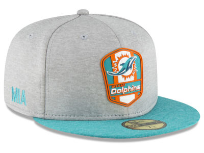 2018 Official chapeau de la route 59FIFTY de ligne de touche de NFL