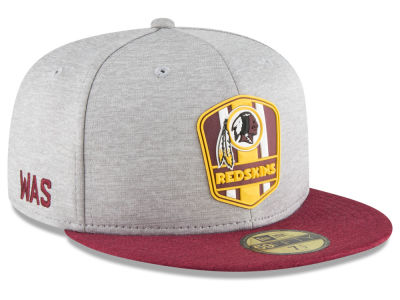Washington Redskins New Era 2018 Official NFL Sideline Road 59FIFTY Cap