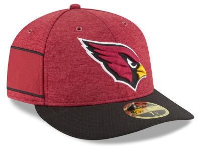 Arizona Cardinals New Era 2018 Official NFL Sideline Low Profile Home 59FIFTY Cap