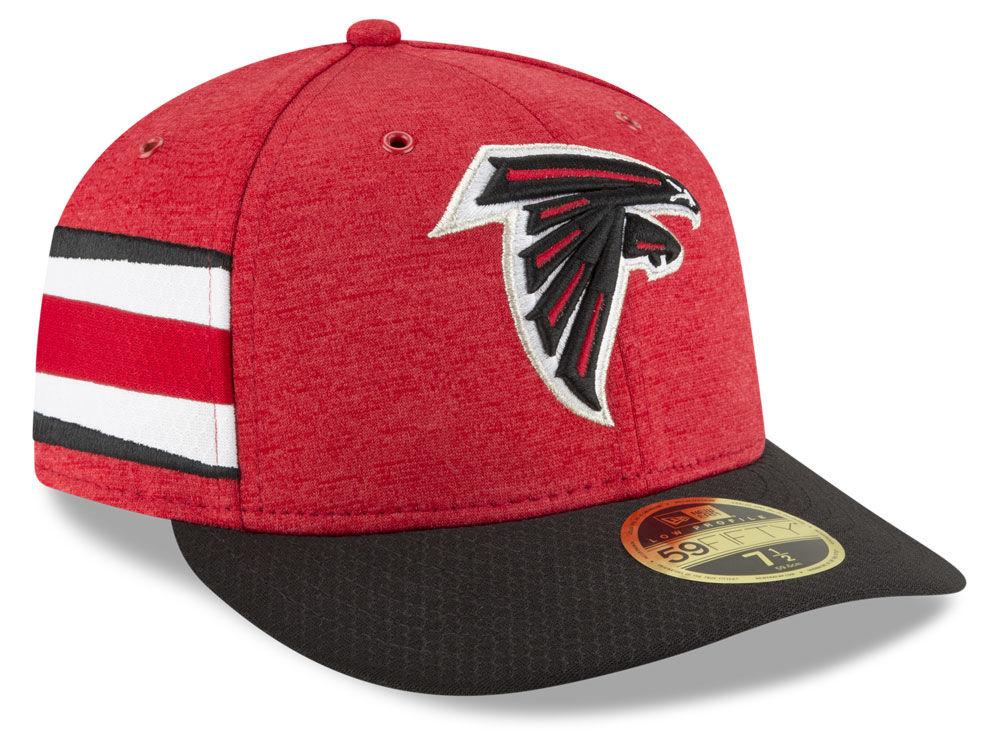 60effe2a7ac Atlanta Falcons New Era 2018 Official NFL Sideline Low Profile Home 59FIFTY  Cap