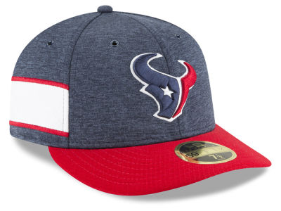 Houston Texans New Era 2018 Official NFL Sideline Low Profile Home 59FIFTY Cap