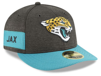 Jacksonville Jaguars New Era 2018 Official NFL Sideline Low Profile Home 59FIFTY Cap