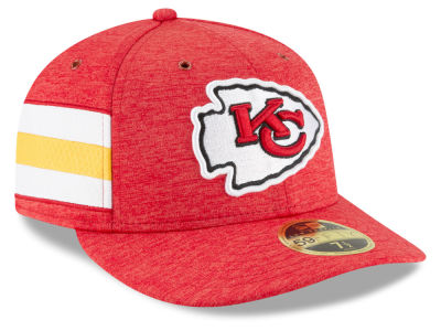 Kansas City Chiefs New Era 2018 Official NFL Sideline Low Profile Home 59FIFTY Cap