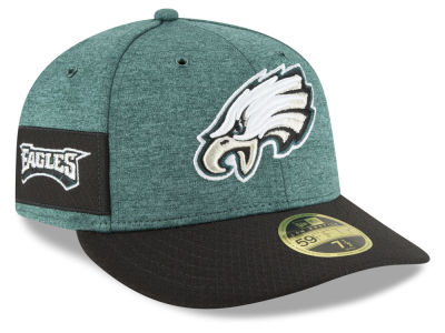 Philadelphia Eagles New Era 2018 Official NFL Sideline Low Profile Home 59FIFTY Cap