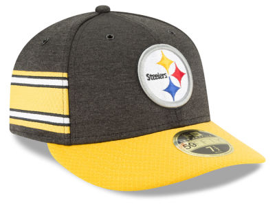 Pittsburgh Steelers New Era 2018 Official NFL Sideline Low Profile Home 59FIFTY Cap