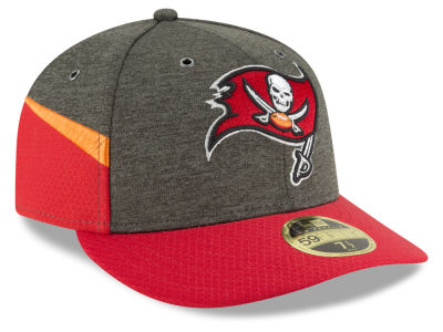 Tampa Bay Buccaneers New Era 2018 Official NFL Sideline Low Profile Home 59FIFTY Cap