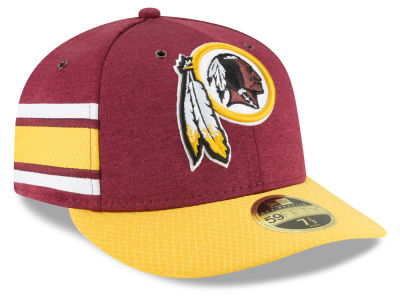 Washington Redskins New Era 2018 Official NFL Sideline Low Profile Home 59FIFTY Cap