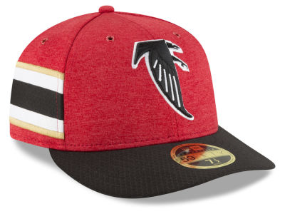 Atlanta Falcons New Era 2018 Official NFL Sideline Low Profile Home 59FIFTY Cap