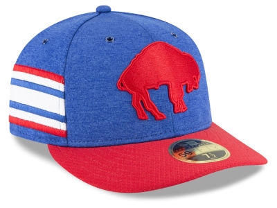 Buffalo Bills New Era 2018 Official NFL Sideline Low Profile Home 59FIFTY Cap
