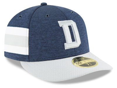Dallas Cowboys New Era 2018 Official NFL Sideline Low Profile Home 59FIFTY Cap