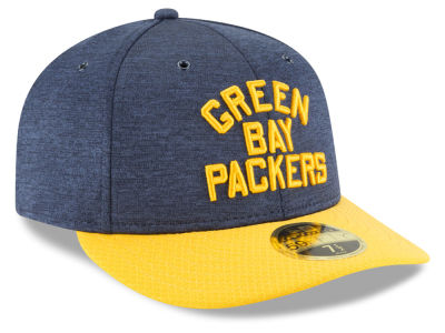 Green Bay Packers New Era 2018 Official NFL Sideline Low Profile Home 59FIFTY Cap
