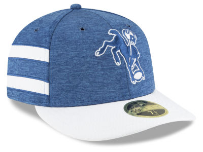 Indianapolis Colts New Era 2018 Official NFL Sideline Low Profile Home 59FIFTY Cap