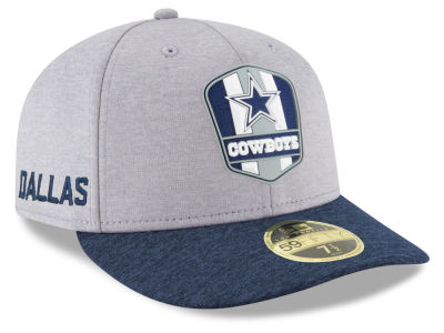 Dallas Cowboys New Era 2018 Official NFL Sideline Low Profile Road 59FIFTY Cap