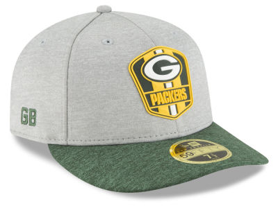 Green Bay Packers New Era 2018 Official NFL Sideline Low Profile Road 59FIFTY Cap