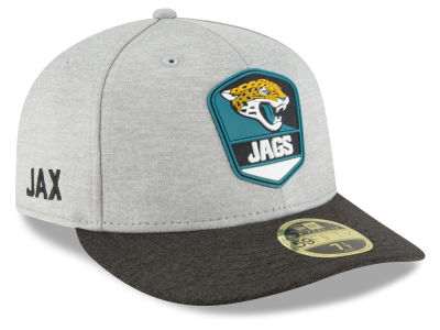 Jacksonville Jaguars New Era 2018 Official NFL Sideline Low Profile Road 59FIFTY Cap