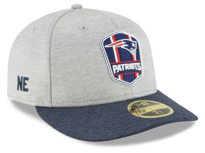 New England Patriots New Era 2018 Official NFL Sideline Low Profile Road 59FIFTY Cap
