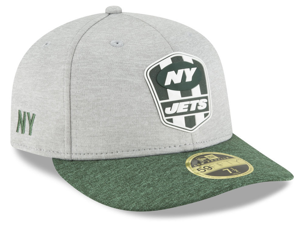 info for 22857 6371d New York Jets New Era 2018 Official NFL Sideline Low Profile Road 59FIFTY  Cap   lids.com