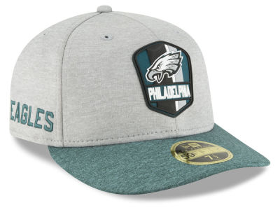 Philadelphia Eagles New Era 2018 Official NFL Sideline Low Profile Road 59FIFTY Cap