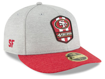 San Francisco 49ers New Era 2018 Official NFL Sideline Low Profile Road 59FIFTY Cap