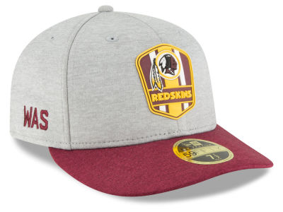 Washington Redskins New Era 2018 Official NFL Sideline Low Profile Road 59FIFTY Cap