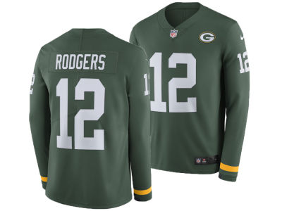 860a60c9a Green Bay Packers AARON RODGERS Nike NFL Men s Therma Jersey