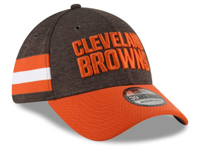 Cleveland Browns New Era 2018 Official NFL Sideline Home 39THIRTY Cap