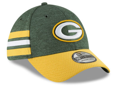 Green Bay Packers New Era 2018 Official NFL Sideline Home 39THIRTY Cap