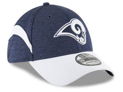 Los Angeles Rams New Era 2018 Official NFL Sideline Home 39THIRTY Cap