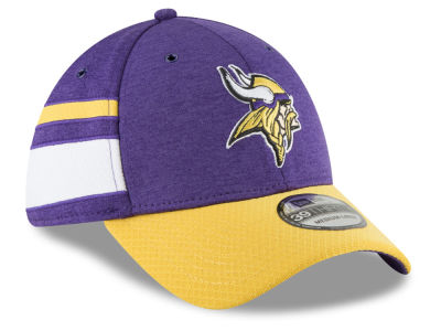 Minnesota Vikings New Era 2018 Official NFL Sideline Home 39THIRTY Cap
