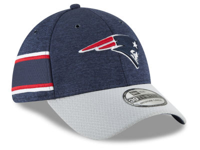 New England Patriots New Era 2018 Official NFL Sideline Home 39THIRTY Cap