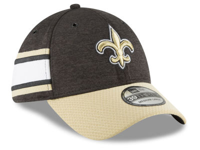 New Orleans Saints New Era 2018 Official NFL Sideline Home 39THIRTY Cap