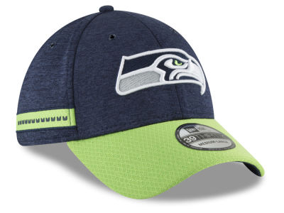 Seattle Seahawks New Era 2018 Official NFL Sideline Home 39THIRTY Cap