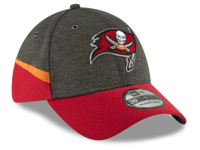 Tampa Bay Buccaneers New Era 2018 Official NFL Sideline Home 39THIRTY Cap