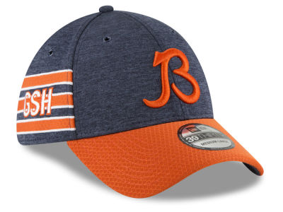 Chicago Bears New Era 2018 Official NFL Sideline Home 39THIRTY Cap fb38fdf1d4fb
