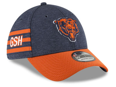 Chicago Bears New Era 2018 Official NFL Sideline Home 39THIRTY Cap 4b2524162
